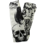 Шарф Butterfly Skull and Eagle Oversized Scarf