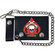 Кошелек / бумажник Skull and Pistols Wallet