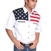 Хлопковая рубашка Flag Shirt