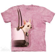 Fun-art футболка Handbag Chihuahua