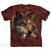 Футболка с волком Forest Wolves