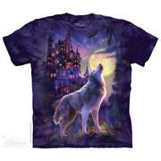 Футболка фэнтези Wolf Castle