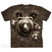 Футболка с медведем Bear Eyes