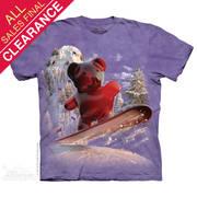 Футболка с медведем Snowboard Bear