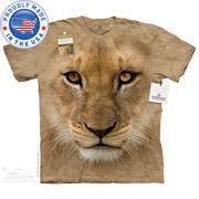 Футболка со львом Big Face Lion Cub