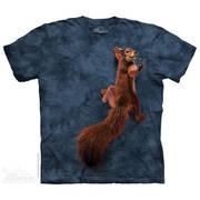 Fun-art футболка Peace Squirrel
