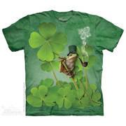 Fun-art футболка Irish Frog