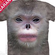 Футболка с обезьяной Big Face Snub Nose Monkey