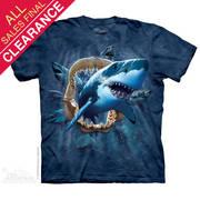 Футболка с акулой Shark Attack