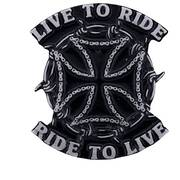 Значок Live to Ride Pin