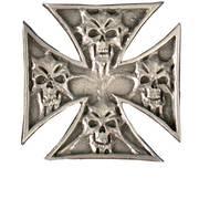 Значок Skulls in Cross Pin