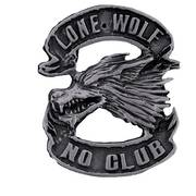 Значок Lone Wolf Pin