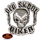 Значок Old Skool Biker Pin