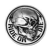 Значок Side Skull Pin