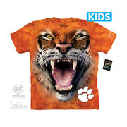 Футболка с тигром Big Face Clemson Tiger Kids