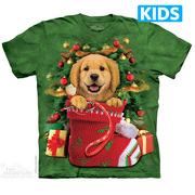 Футболка с собакой Golden Stocking Kids