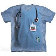 Fun-art футболка Nurses Job