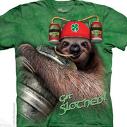 Fun-art футболка Get Slothed