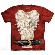 Рождественская футболка Santa Suit