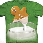 Рождественская футболка Gingerbread Dunk Attack