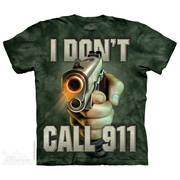 Военная футболка Call 911