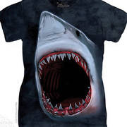 Футболка с акулой Shark Bite Ladies Tee