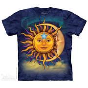 Футболка с изображением вселенной Sun Moon-t