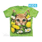 Kitten in Springtime Kids