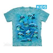 Футболка с дельфином Mod Squad Kids