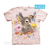 Футболка с изображением грызуна Baby Bunny Kids