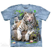 Футболка с тигром White Tigers of Bengal