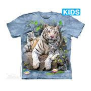 Футболка с тигром White Tigers of Bengal Kids