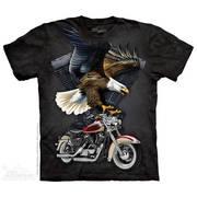 Футболка для байкеров Iron Eagle