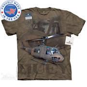 Военная футболка с коротким рукавом U.S. Army Huey