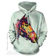 Funky Horse Hoodie Sweatshirt