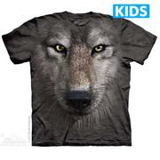 Футболка с волком Wolf Face Kids