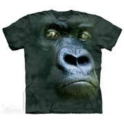 Футболка с обезьяной Silverback Portrait