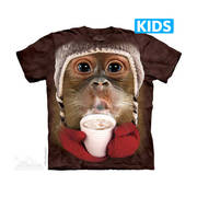 Футболка с обезьяной Hot Cocoa Orangutan Kids