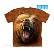 Футболка с медведем Grizzly Growl Kids