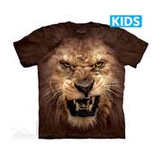 Футболка со львом Big Face Roaring Lion Kids