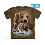 Футболка с медведем Find 10 Brown Bears Kids