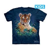 Футболка с тигром Tiger Cub in Grass Kids