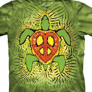Rasta Peace Turtle Kids