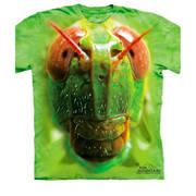 Футболка с изображением насекомых Grasshopper Face Kids