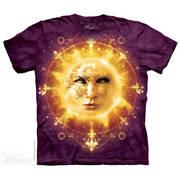 Футболка с изображением вселенной Sun Face