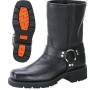 Short Harness Boot with Lug Sole