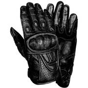 Protective Padded Leather Racing Gloves