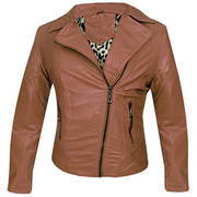 Reputation Womens Outlaw Kahki Casual Jacket