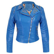Serena Womens Inferno Blue Casual Jacket