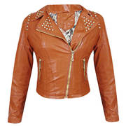 Serena Womens Inferno Brown Casual Jacket